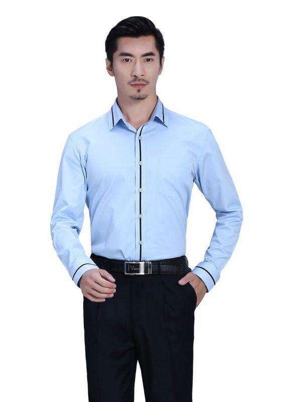 资深专家告诉您定制衬衫中领子的工艺流程分析